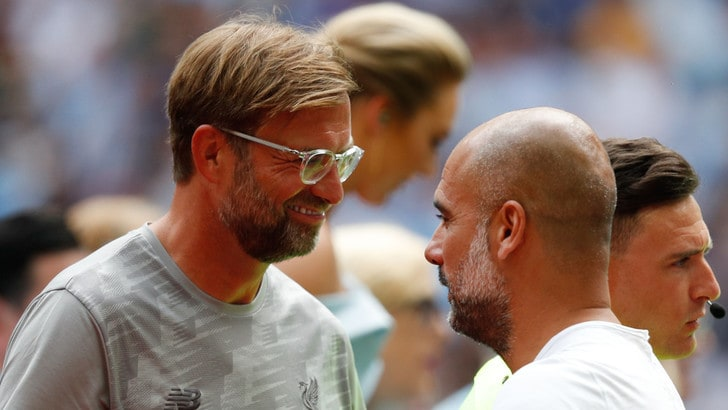 Liverpool-Manchester City, Guardiola: