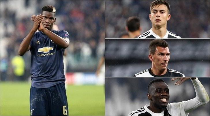 Pogba, clamoroso Juve: Dybala, Mandzukic e Matuidi allo United!