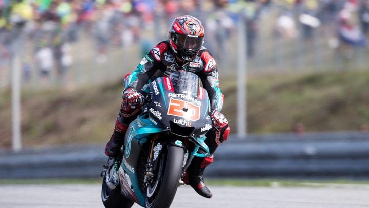 Test MotoGp: Quartararo al top, per Rossi prove di 2020