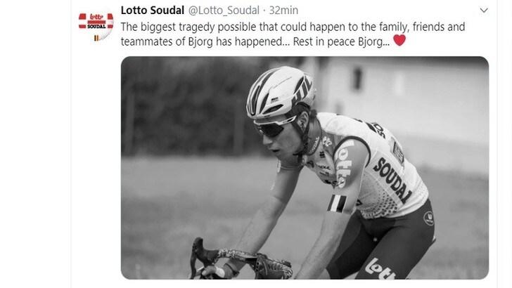 Lambrecht muore in un incidente. Tragedia al Giro di Polonia