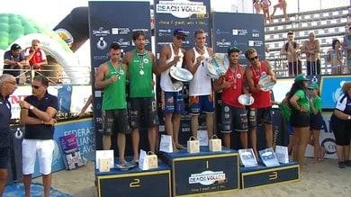 Beach volley, i gemelli Ingrosso e They-Barboni conquistano Palinuro