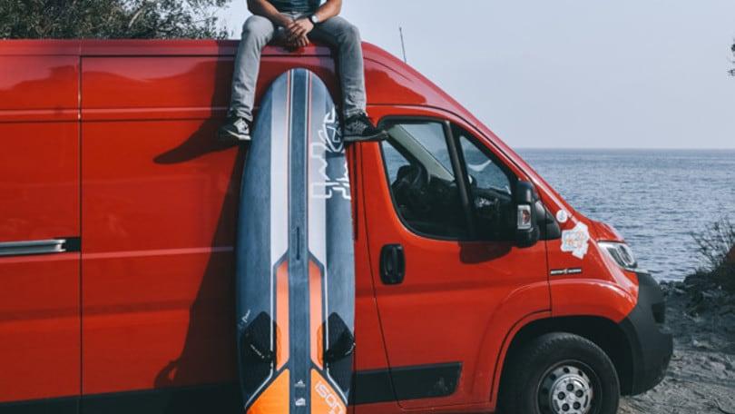 Al Windsurf World Tour di Fuerteventura Matteo Iachino è terzo