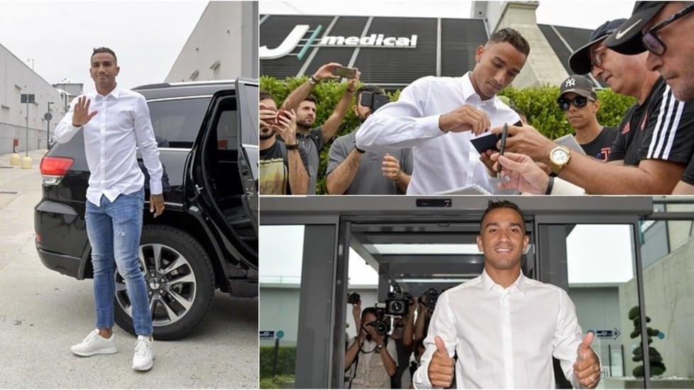 Il terzino brasiliano si è presentato in camicia bianca e jeans intorno alle 8:50 di mattina per le visite mediche. Per l'ex Manchester City è pronto un contratto quinquennale da 4 milioni più bonus a stagione