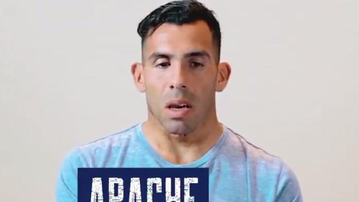 Tevez racconta come è diventato Apache