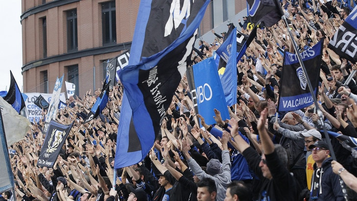 Atalanta, boom di abbonamenti: più di duemila in curva Nord