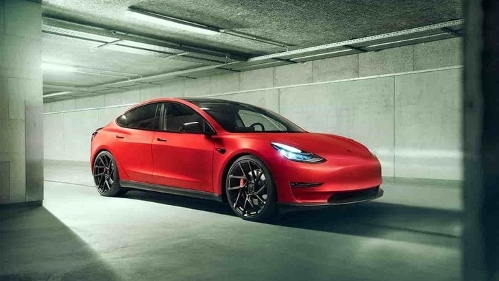 Tesla Model 3, il tuning cattivo di Novitec
