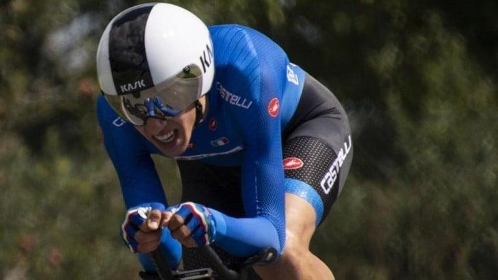 Europei di ciclismo: Andrea Piccolo conquista l'oro nella crono juniores
