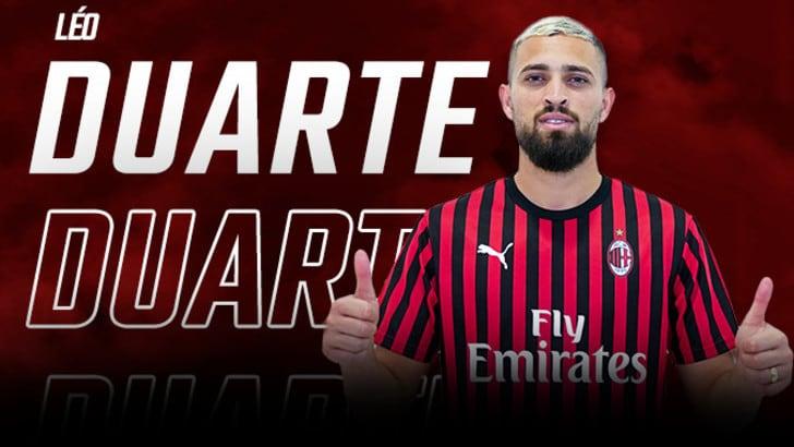 Milan, Duarte è rossonero: ha firmato per cinque anni