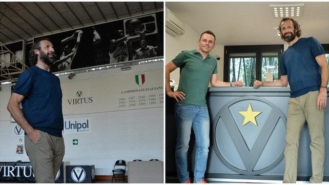 Antoine Rigaudeau fa visita alla Virtus Bologna