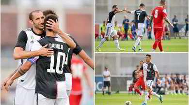 Juve, poker al Novara: Dybala in gol da capitano