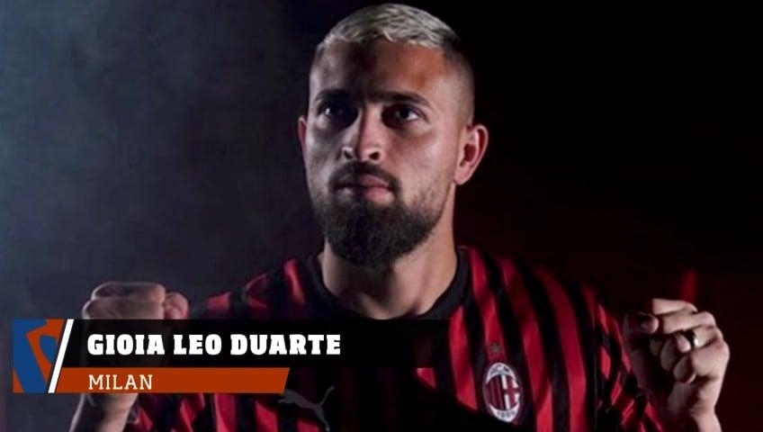 Milan, la gioia di Leo Duarte