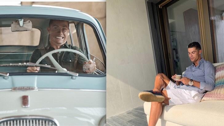 Cristiano Ronaldo sempre più italiano. La Juve, il caffè, la casa in collina...