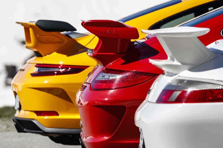 Porsche 911 GT3: gli scatti di 20 anni di noveundici