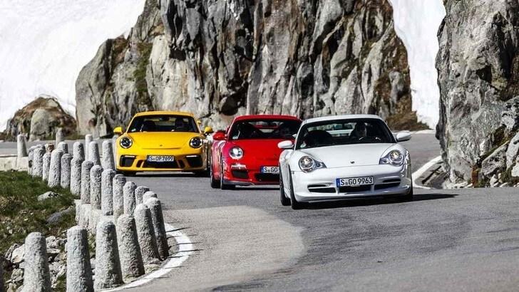 Porsche 911 GT3, la sportiva tedesca compie 20 anni