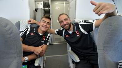Juve, Dybala e Higuain sorridono per l'Atletico: il mercato non li disturba