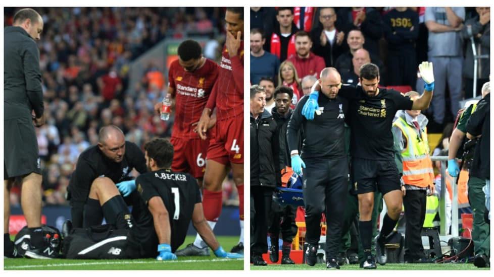 Nota negativa nell'esordio in Premier per i Reds: l'ex portiere giallorosso è stato costretto a chiedere il cambio per un problema muscolare alla gamba destra. Il brasiliano è comunque uscito sulle sue gambe, rifiutando la barella