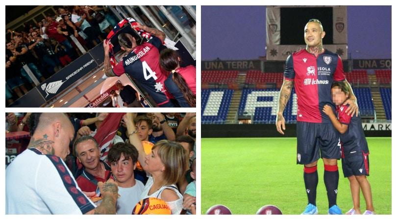 Cagliari, Nainggolan è tornato a casa!