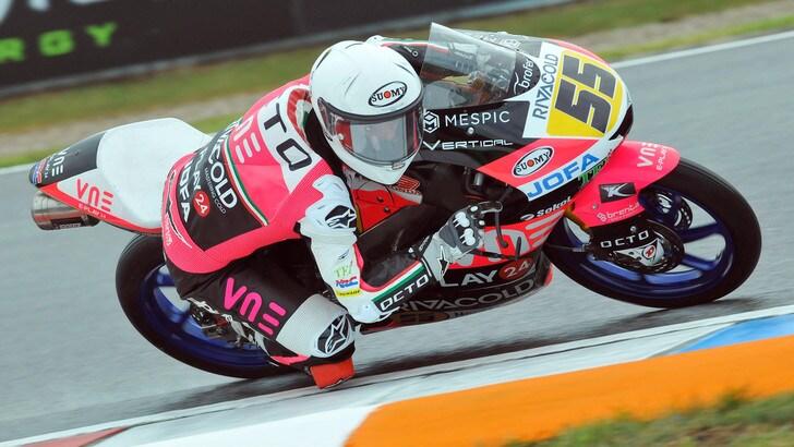 Moto3, Gp Austria: Romano Fenati scatterà dalla pole, Dalla Porta 7°
