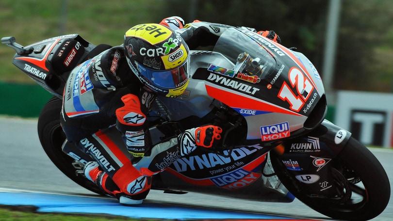 Moto2: Nagashima trova la prima pole davanti a Binder, Bastianini 4°