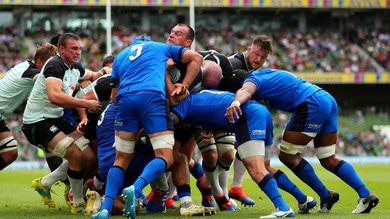 Rugby, Italia sconfitta dall'Irlanda 29-10