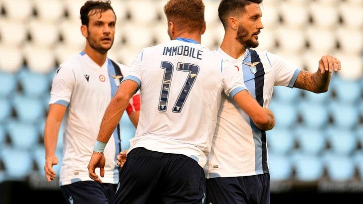 Celta Vigo-Lazio 1-2: due reti di Immobile piegano gli spagnoli