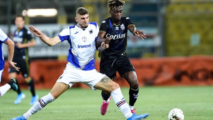 Parma-Sampdoria 2-1: apre Ramirez, Inglese e Sprocati rimontano