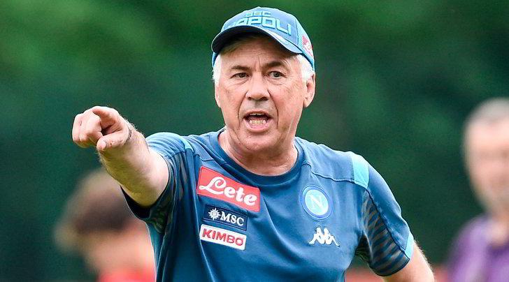 """Ancelotti: """"Mercato Napoli da 10. Icardi? Ci pensa la società"""""""