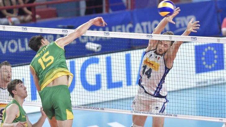 Qualificazione Olimpica: l' Italia batte l'Australia col cuore