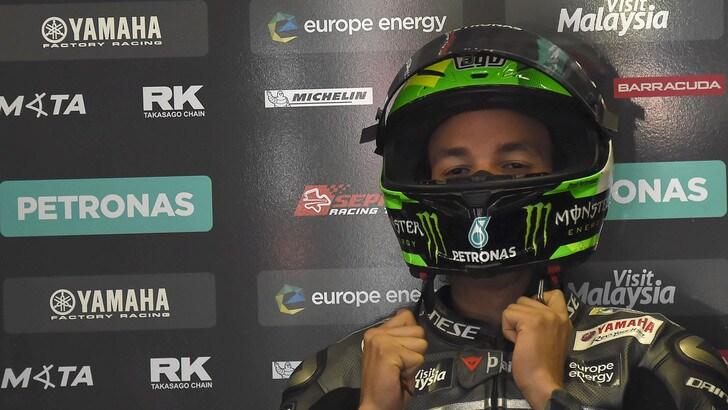 Gp Austria: Morbidelli davanti a Rossi nel warm up