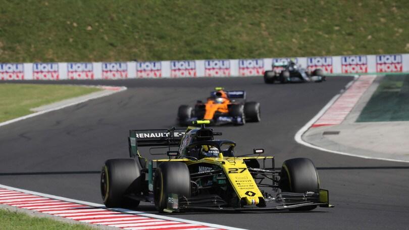 """Renault, Hulkenberg: """"Risultati al di sotto delle aspettative"""""""