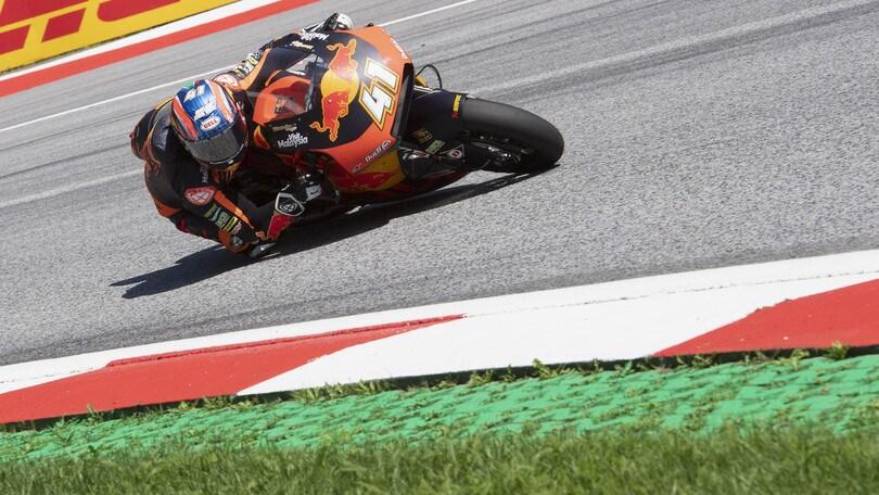 Moto2: Binder trionfa in Austria, Marquez secondo