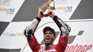 Dovizioso straordinario, sorpasso all'ultima curva e vittoria al GP d'Austria