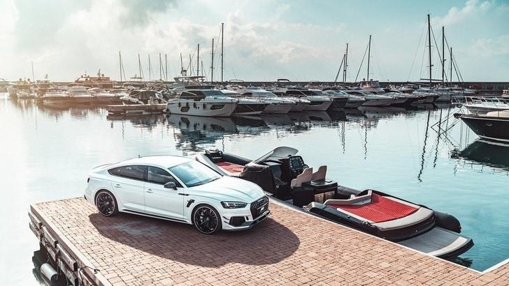 ABT, tra auto e barche con RS5-R Sportback e Strider