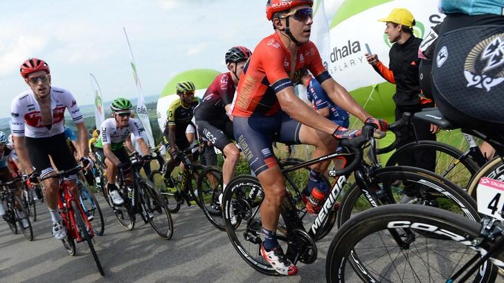Ciclismo, incidente per Pozzovivo