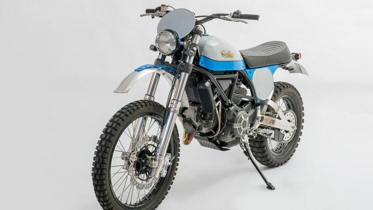 Special Ducati Scrambler by Lussiati: omaggio agli anni '70