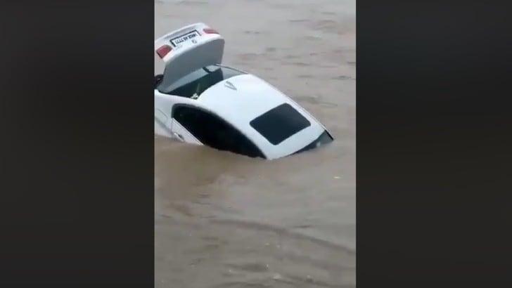 Getta una BMW in acqua perché voleva una Jaguar VIDEO