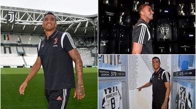 Juve, ecco Danilo: tour allo Stadium