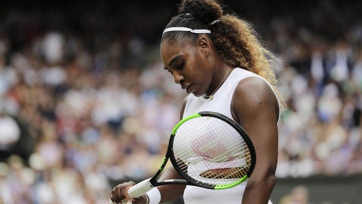 Serena Williams ko a Cincinnati per problemi alla schiena