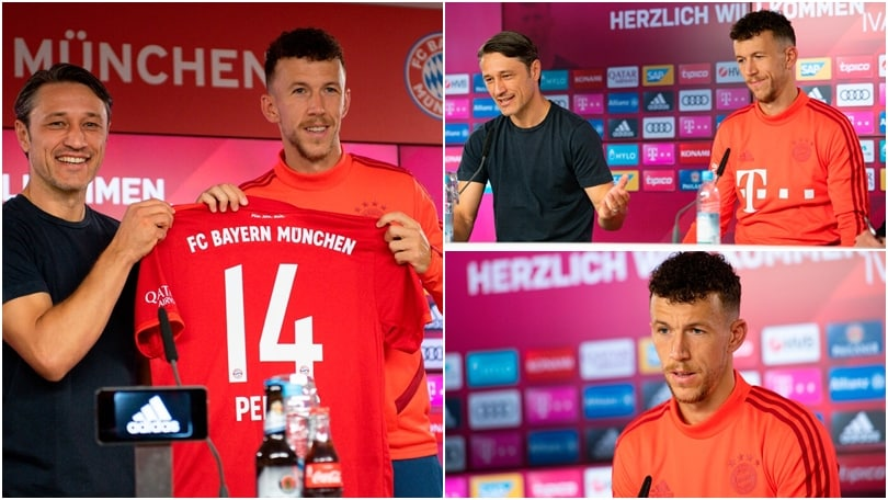 Il Bayern presenta Perisic: conferenza e maglia numero 14
