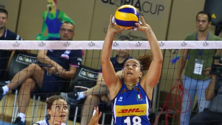 Gloria Cup: le azzurre sconfitte dalla Serbia