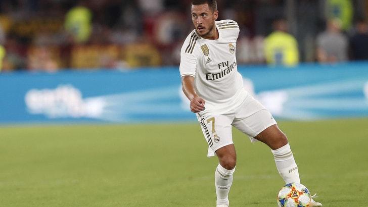 Real senza Hazard: il belga fuori un mese