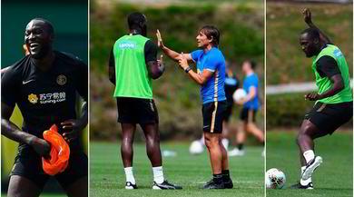 Lukaku impara da Conte: l'allenamento per tornare al top
