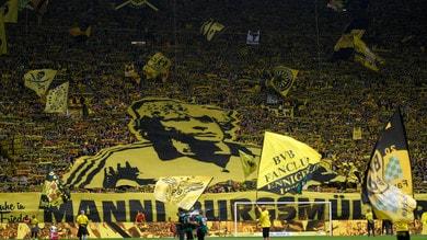 Cinquina del Dortmund e dedica a Burgsmueller