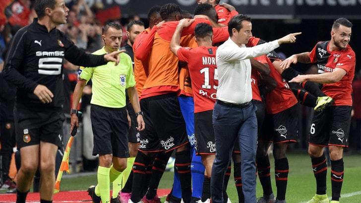 Ligue 1, il Psg perde 2-1 in casa del Rennes