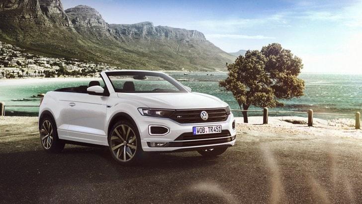 Volkswagen T-Roc Cabriolet, ruote alte a cielo aperto