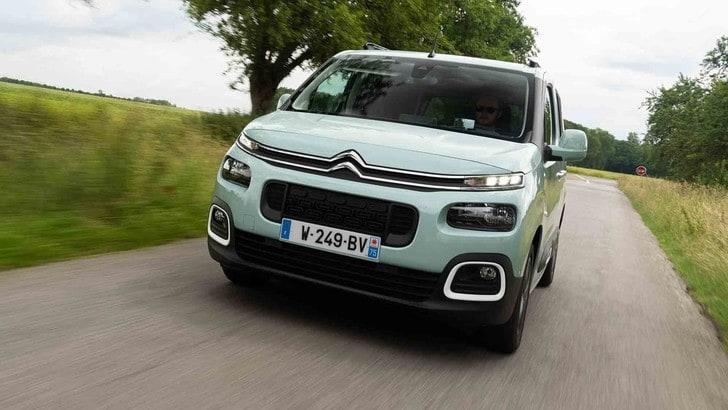 Un nuovo motore Pure Tech per Citroën Berlingo