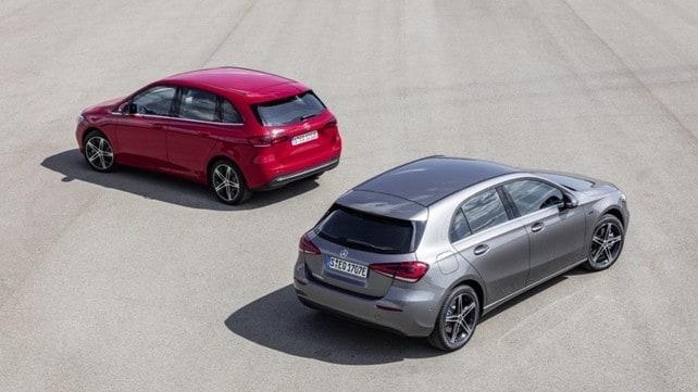 Mercedes, A250 e B250 ibride, le immagini
