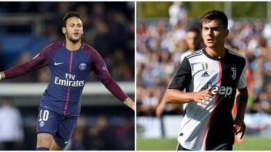 """Globo Esporte: """"La Juve irrompe su Neymar. Dybala al Psg"""""""