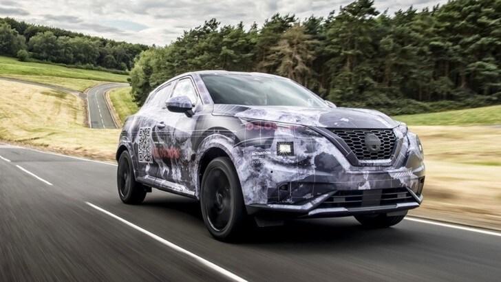 Nuova Nissan Juke, nuove immagini del crossover