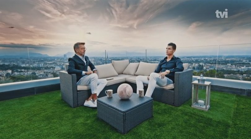 Cristiano Ronaldo apre la sua casa per TVI: la Juve, la Champions, il ritiro...